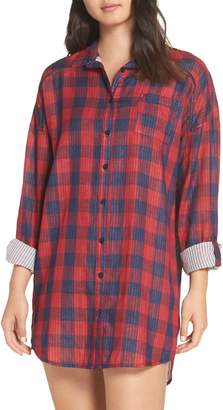 PJ Salvage Check Nightshirt