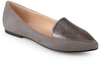 Journee Collection Womens Kinley Loafers Pull-on Pointed Toe