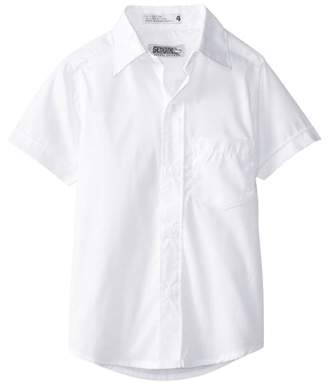 Genuine School Uniform Genuine Uniform Boys Short Sleeve Woven Shirt