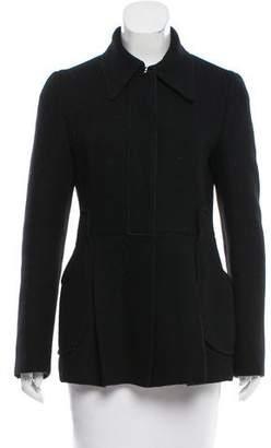 Prada Wool Fitted Jacket