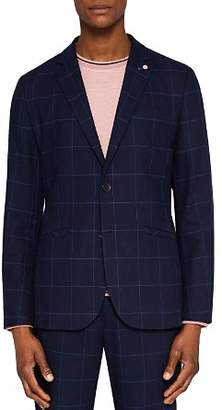 Ted Baker Izar Windowpane Check Regular Fit Sport Coat