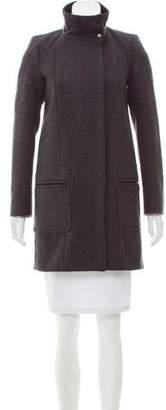 Comptoir des Cotonniers Structured Wool Coat