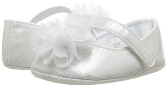 Baby Deer Soft Sole Ballet with Flower Girl's Shoes