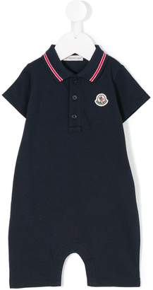 Moncler polo-style romper