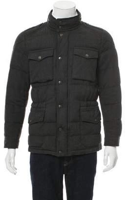 Moncler Wool Santiago Field Jacket