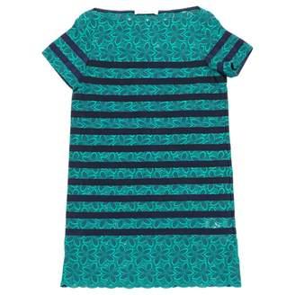 Green Cotton Sacai Luck Dresses