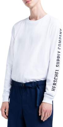 Herschel Long-Sleeve Cotton Blend Jersey Tee