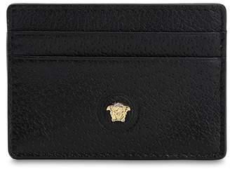 Versace Logo Leather Card Holder