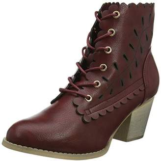 Joe Browns Women's 5th Avenue Ankle Boots Dark Red, 42 EU