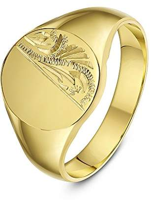 9cbaa75f17b40 Mens Gold Signet Rings - ShopStyle UK