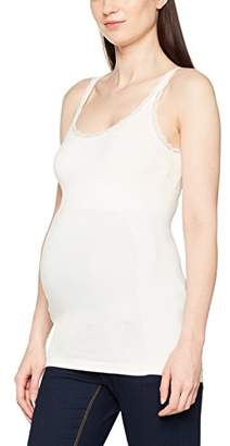 Mama Licious Mamalicious Women's Mlheal Lace Strap Top Maternity Vest,(Size: M/L)