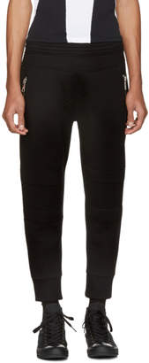 Neil Barrett Black Classic Biker Lounge Pants