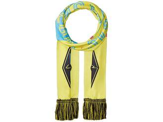 Las Vegas Lights F.C. HD4 Blue/Yellow Scarf