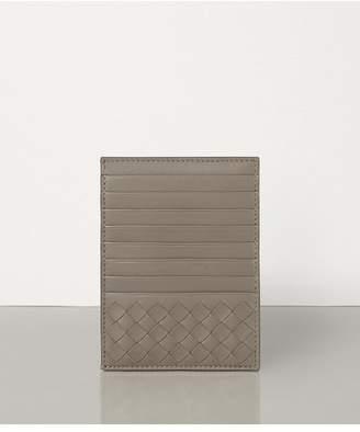 Bottega Veneta Limestone Intrecciato Nappa Card Case