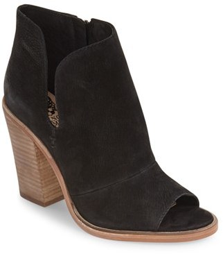 Women's Vince Camuto 'Katleen' Peep Toe Bootie $149.95 thestylecure.com