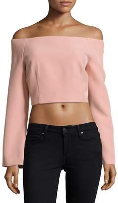 Keepsake Women's Solid Cropped Top
