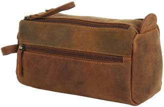 fec3ece9ed1e at Amazon Canada · Buffalo David Bitton Mad Over Shopping Handmade Genuine Leather  Toiletry Bag Dopp Kit Shaving Kit