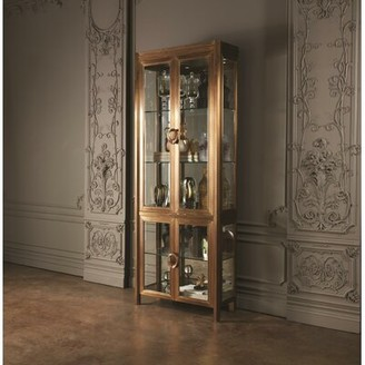Global Views Apothecary Vitrine Curio Cabinet