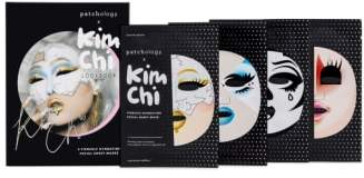 Patchology x Kim Chi Fiercely Hydrating Face Mask Look Book