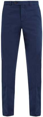 Brunello Cucinelli Slim-leg stretch-cotton chino trousers
