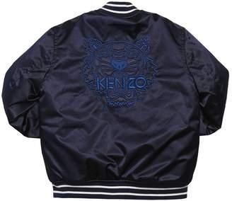 Kenzo (ケンゾー) - KENZO KIDS ナイロンサテン ボンバージャケット