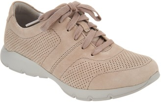 Dansko Leather or Nubuck Lace-up Sneakers - Alissa