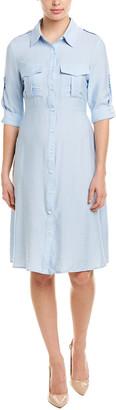 ONEBUYE Shirtdress