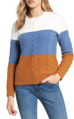 Endless Rose Colorblock Sweater