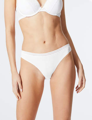 Marks and Spencer 5 Pack Cotton Blend Bikini Knickers