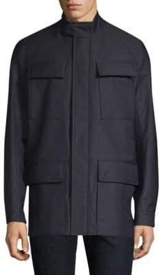 Canali Wool Field Jacket