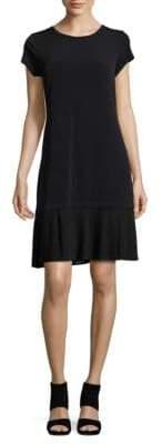 MICHAEL Michael Kors Pleated Shift Dress