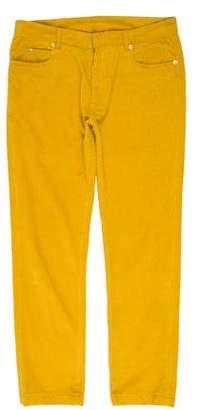 Maison Margiela Slim Fit Corduroy Pants