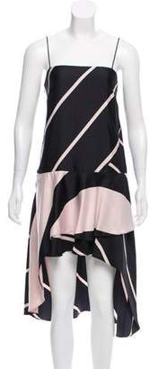 Camilla And Marc Sleeveless High-Low Dress