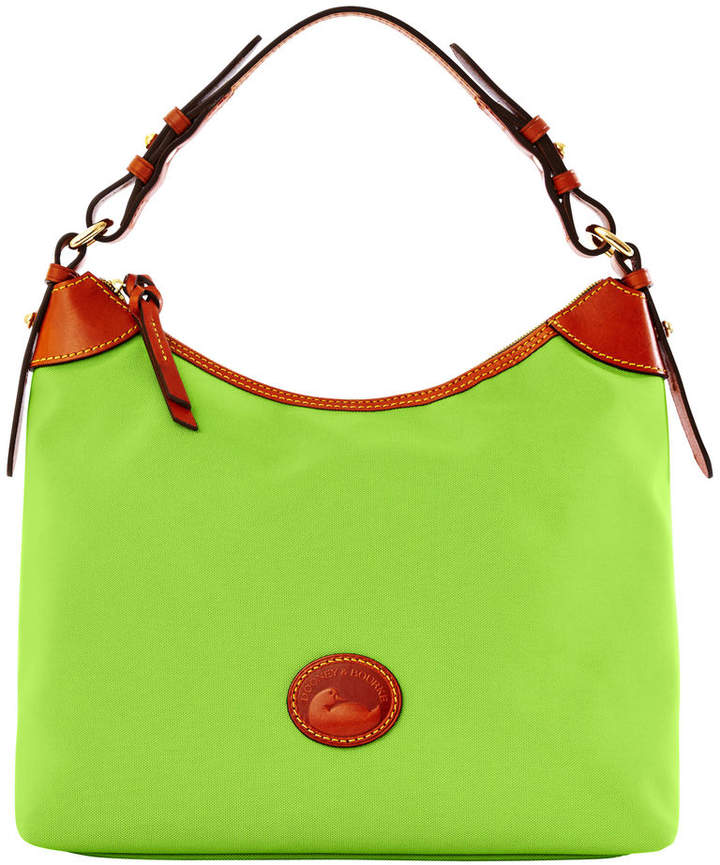 Dooney & Bourke Nylon Large Erica - APPLE GREEN - STYLE