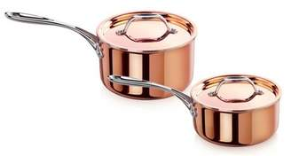 New Star Food Service Rain 11 Piece Tri-Ply Copper Clad Induction Ready Cookware Set