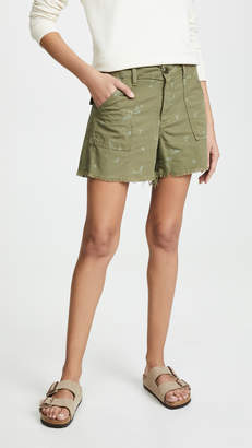 The Great Frayed Army Shorts