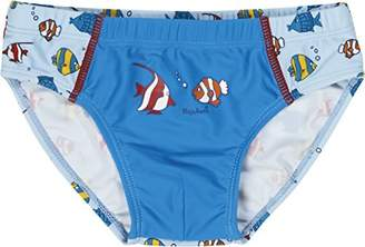 Playshoes Boy's UV Sun Protection Swimming Trunks Fish,12-18 Size:86/92 (12-24 Months)