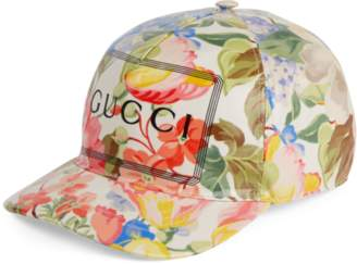 e4bb8769e0f Gucci GG Supreme baseball hat with wolf