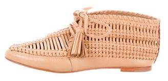 Ulla Johnson Leather Lace-Up Oxfords