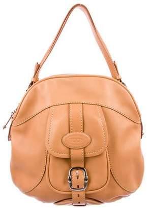 Tod's Leather Pocket Shoulder Bag
