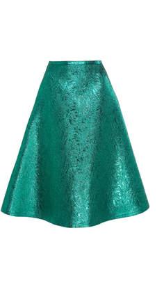 Rochas Brocade Textured Skirt Size: 38