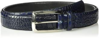 Stacy Adams Men's Ozzie Big & Tall Croc Embossed Belt