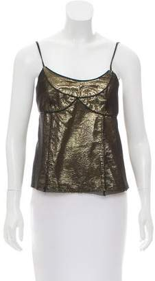 Marc by Marc Jacobs Sleeveless Mesh-Accented Top
