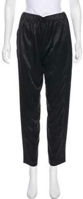 Juan Carlos Obando High-Rise Straight-Leg Pants