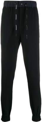 Calvin Klein Jeans drawstring waist tapered trousers