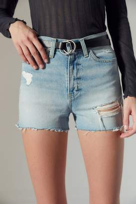 Urban Outfitters Thin Double O-Ring Belt