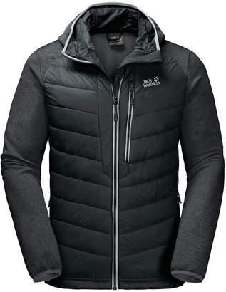 Jack Wolfskin Men's Skyland Crossing Hooded Full-Zip Jacket from Eastern Mountain Sports
