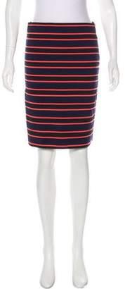 Sonia Rykiel Sonia by Striped Pencil Skirt