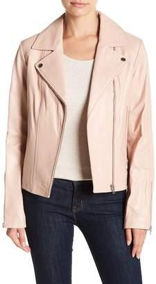 Soia & Kyo Megane Moto Leather Jacket