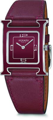 Hermes Heure H Watch, 26 x 26 mm